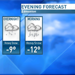 4 those of us that work evenings, try 2 get home earlier rather then later. Snow starts late tonight. #yeg #CBC http://t.co/Dgug1Yx1Oj