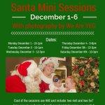 #SantaMiniSessions are next week!!! #yeg #yegevents #Christmas #hohoho http://t.co/NHtQOordk1
