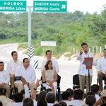 La Autopista #NuevoXcan-#PlayaDelCarmen beneficia a los Estados de la #PenínsulaDeYucatán. @EPN @SCT_mx @gruizesp http://t.co/RwhTHsOyLe