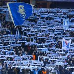 A sea of blue and white roaring @Malmo_FF on but they were unable to keep @juventusfc at bay. #UCL http://t.co/f89DP5Qspw
