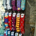 @DowntownGuelph Ooops... Got so excited I didnt attach the pic of Persephones awesome socks. #secretsantaguelph http://t.co/577zrJZtPw