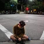 Vignettes of an exhausting second day of #MichaelBrown #Ferguson protests in downtown #LA. http://t.co/YGFIGqONIP http://t.co/I1O6QisYWT
