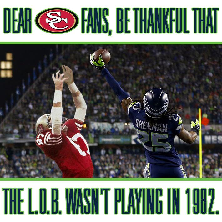 Happy Thanksgiving 49ers fans! Here's something to be thankful for. #GoHawks http://t.co/XPGgJOSZ48