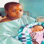 Côte dIvoire : Une écolière de CE2 (9 ans) a accouché d'un petit garçon. Le père est un lycéen de 2nde. #Bocanda http://t.co/drHAX5ixlu