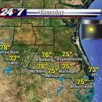 A reinforcing shot of northerly breeze. Ill show you the impact on your holiday forecast at 5p $ 6p. #RGV http://t.co/EXmJJulFC2