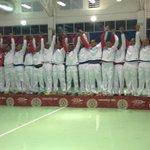 Los muchachos del balonmano suben al podio como los ganadores del oro. #Veracruz2014 http://t.co/6s7zNgS4au