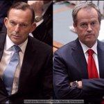 QT Gameface | PM Abbott and Opposition Leader Shorten http://t.co/xUp52EEgWn