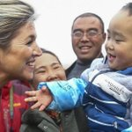Queen Maxima of the Netherlands visits a rural village in north China's Hebei Nov. 26. http://t.co/38LLdAnI2l