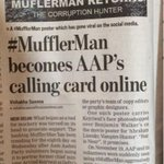 And here is the news #MufflerMan @ArvindKejriwal it deserves an RT from you #HTdelhi http://t.co/VCwo8iaAp5