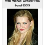 Abigail Breslin, obsessed with Michael Clifford from band 5SOS Occupation: Obsessed with Michael Clifford ????✋ http://t.co/394hZ7e1bV