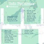 Inilah daftar #HargaPertamax se-Indonesia yang dikeluarkan oleh Pertamina http://t.co/krLzZRGYVy http://t.co/VL7K5y5pbk