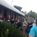 """Save our ABC"" chanting @1233newcastle @newcastleherald #abccuts http://t.co/kIdthxZTJG"