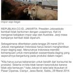 Pagi om @fadjroel mau tanya apakah Jokowi kader sapi? Mohon pencerahan :d | cc: @maspiyungan http://t.co/rjKxKyxFUW