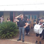 Aaron Kearney thanks those gathered for loyalty @1233newcastle @newcastleherald #abccuts http://t.co/9uUy6MSbEx