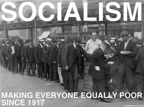 Socialism will make everybody equal... Equally poor. Share if you hate #Socialism ! #RedNationRising http://t.co/YSVAcXryHh via~ @RNREUROPE