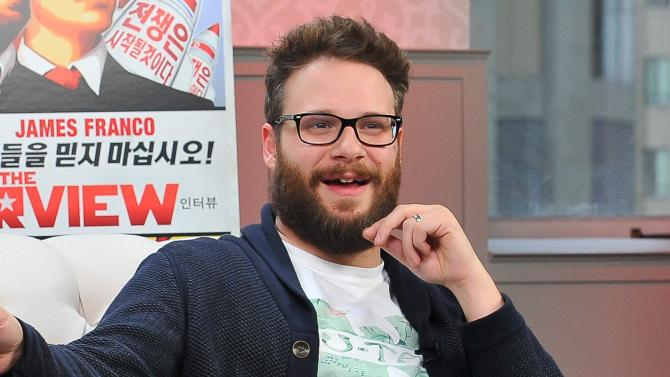 .@SethRogen said he'll get high with an audience before a TheInterview screening >>