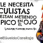 """#BajateElSueldoCareRaja #udiotas #YoMeRebelo """"en estos casos la Guillotina no es tan mala idea #QueRuedenSusCabezas http://t.co/6tICqnZIBQ"""