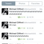 and here we have michael clifford accurately portraying all of our reactions to abigails song #AbigailYouTried http://t.co/YWP1FBvSOT