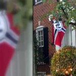 Американец вывесил на доме нацистский флаг в ответ на миграционную политику Обамы http://t.co/qedUxCdw68 http://t.co/S0YPGiSpVK