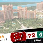 .@BadgerMBB wins opening game of #Battle4Atlantis. Will take on winner of FL/Georgetown gm Thurs at 2:30pm CT on ESPN http://t.co/HDbMMCZUJ4