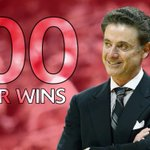 Number 700! Rick Pitino becomes 6th active coach with 700 career wins after Louisville beats Cleveland State, 45-33. http://t.co/pg2zol7OSM