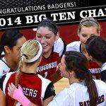 Congratulations @BadgerVB! #BigTenChampions #Badgers http://t.co/cOpaFTTWZM