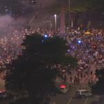 E o número de atleticanos segue aumentando na Praça 7, em BH. http://t.co/YsRyokvkSq