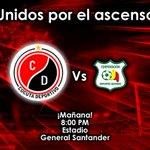 Mañana en el General Santander: @Cucutaoficial vs @DptsQuindio. Vamos por la gloria... ¡Cúcuta somos todos! http://t.co/mNufagP8ja