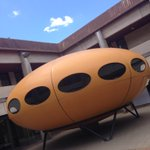 Every Uni needs a spaceship! @UniCanberra #digitalacademic http://t.co/Ppl11HwDLM