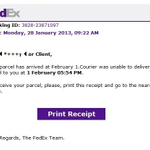 Email from @FedEx looks real but its part of a scam. Tech experts say holidays prime time for crooks @FOX59 at 10/11 http://t.co/A50GcCxBja