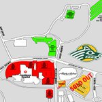 Parking near the @AKAirCenter is SOLD OUT. Free parking in green is still available for the #GreatAKShootout http://t.co/SV65whKbgt