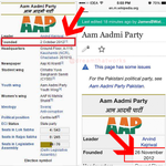 #aaptards Changed the Foundation Date Yestday, just to fool People! #WomenDialogue #MufflerMan @KiranKS @anilkohli54 http://t.co/SyKCITWNCk