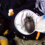 An inert grenade inside a stuffed penguin?! The TSA's Instagram is terrifying and awesome: http://t.co/YMgLW5Nz36 http://t.co/gJEJUFiX9p
