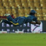 The CATCH that WON the Match for @OfficialSLC | #lka #Cricket #SLvENG |  PIC via- Yahoo http://t.co/asUczilpTO