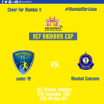#Mumbai FC face Customs today in the RCF #NadkarniCup MATCH PREVIEW >> http://t.co/voyAYXISXA #IndianFootball #MDFA http://t.co/MnmgMfpehX