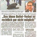 Reaktion auf FPÖ-Kritik: Das blaue Bettel-Verbot ist rechtlich gar nicht möglich! #ibktwit #Bettler #Sozialpolitik http://t.co/d08CZrNZrN