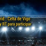 ¡¡GANA 2 ENTRADAS PARA VER EL REAL MADRID - CELTA!! Para participar SÍGUENOS y HAZ RT #AlBernabeuconbwin http://t.co/CjGDUMkQno