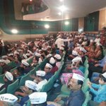 Volunteers excited and eagerly awaiting arrival of their hero, the #MufflerMan ! http://t.co/dl00wMvA3z