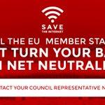 Today the EU Council will debate the TSM proposal. Tell them we need #NetNeutrality: https://t.co/oNj0wwrkaq http://t.co/v38eDCiqGs