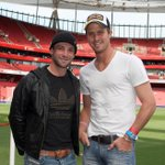 Phillip Hughes, pictured with England cricketer Nick Compton, at Emirates Stadium in May 2009 http://t.co/myNHpmo0gT
