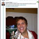 "Carson Tinker had the best answer for the ""got a second"" question #NeverForget #AuburnHateWeek http://t.co/Hn5uN3TSGs"