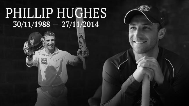 Our thoughts are with Phil Hughes friends and family. http://t.co/bnr7HqCeHK http://t.co/XzFqePvRa1