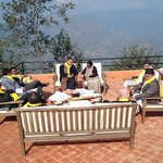 SAARC Foreign Ministers gather in informal setting at Dhulikel. http://t.co/3i54Lk8jQC