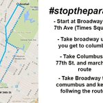 #STOPTHEPARADE This is the route. Be the change you want to see in the world. Make history. #IndictTheSystem http://t.co/x8xziyC0Wq