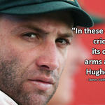 Cricket Australia's James Sutherland pays tribute to Phil Hughes. http://t.co/nbuMrkgck6