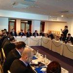 В Астрахани обсуждают актуальные вопросы разработки морских месторождений России.Участников поприветствовал @ajilkin http://t.co/oJYmHN3a0v