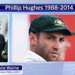 The sporting world is in a state of shock after the death of Phil Hughes. Tributes pouring in this morning. #SSNHQ http://t.co/yHaf7GrXc6
