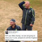 Moving tributes for Phillip Hughes from the #CricketFamily. Well continue to update here: http://t.co/GfjIkw53bD http://t.co/HF3AUHiPaC