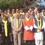 All Smiles. Retreat at Dhulikhel makes all of SAARC smile. http://t.co/LxHGqn9BUx