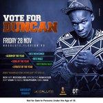 @DuncanSkuva Nomination party tomorrow @AbsoluteDbn feat @DJSOXsa @rocksilver8 @DjVuuh @DjGukwaSA n more http://t.co/AX9VAFlhLT